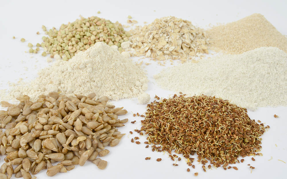 Sprouted Seeds and Flours, Raw